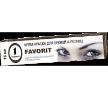 FARMAVITA FAVORIT Крем-краска для бровей и ресниц