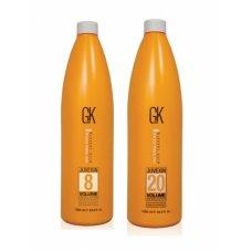 Global Keratin (Глобал Кератин) Проявитель краски для волос 2.4%, 3%, 6%, 9%, 12% (Cream Developer), 1000 мл