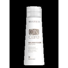 Selective (Селектив) Золотистый шампунь для натуральных или окрашенных волос теплых светлых тонов (On Care Tech | Golden Power Shampoo), 250 мл