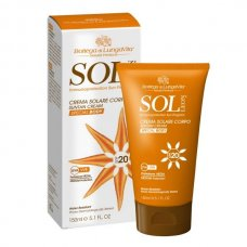 Sol Leon (Сол Леон) Cолнцезащитный крем для тела SPF 20, 150 мл