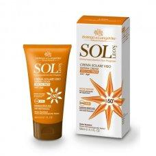 Sol Leon (Сол Леон) Солнцезащитный специальный крем для лица SPF50+, 50 мл