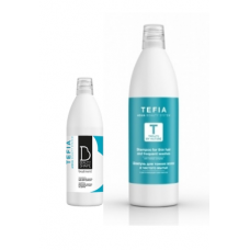 Tefia (Тефия) Шампунь для волос жирных у корней и сухих по длине (Shampoo for greasy roots and dry length), 1000 мл